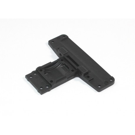 Rear Chassis Plate TC02C EVO