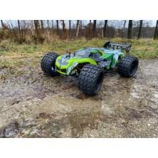 Aluminum Steering Block (2) orange TM4 Comp. Buggy