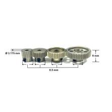 Tire Set f/r (2) Truggys.)