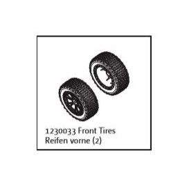 Front Tire Set (2) Buggy