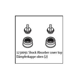 Shock Absorber Cover top (2) Buggy/Truggy
