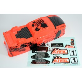 Body orange Truggy Brushless