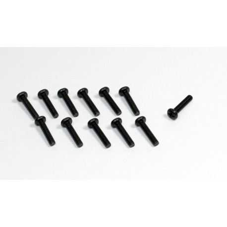 Head Cross Screw 3x10 (12) Buggy/Truggy