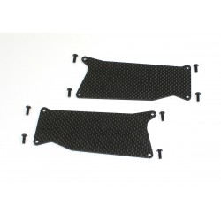 Front Arm Carbon Stiffener (2) 1:8 Truggy