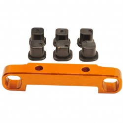 Alu Suspension Arm Mount rear TC02CEVO inserts