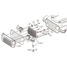 Soporte montaje baterias Sub-c