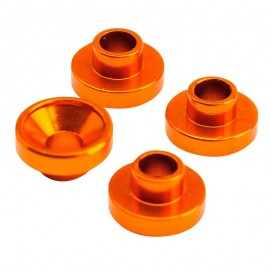 Servo Washer 4.3mm orange