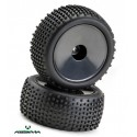 "Wheel Set Buggy Disc ""Offroad"" rear black 1:10 (2)"
