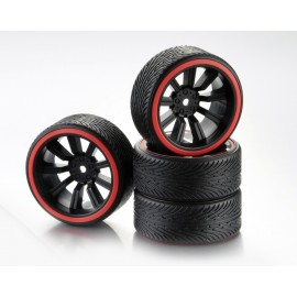 "Wheel Set Drift 9-Spoke ""Profile B"" Rim black/Ring"