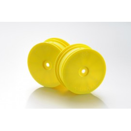 1:10 Off-Road 4WD racing front rims yellow (2)