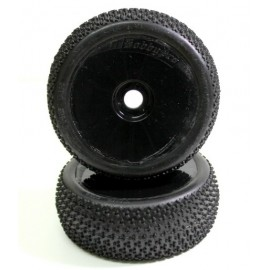 "Wheel Set Buggy ""Disc"" black 1:8 (2)"