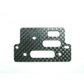 KMAX-054 Axial Carbon Servo Plate KM RACING