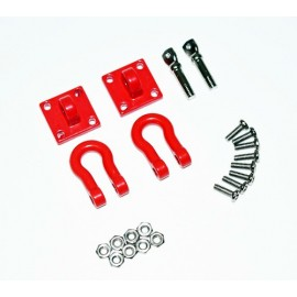 Heavy duty shackle with mounting bracket 1:10