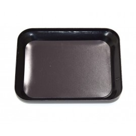 Aluminum bowl with magnet plate black