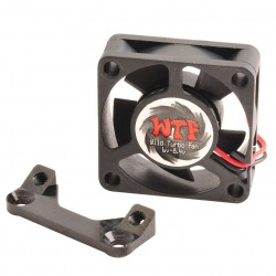 Fan Mount with WTF Fan 25mm Black