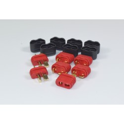 T-plug Set 2x male / 5x female