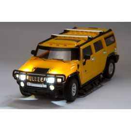RC License Edition: Hummer H2 (Colour: Yellow)