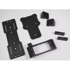 Servo,ESC & Battery Mount Set