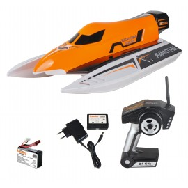 Lancha AVANTI-BL Brushless Race Boat Inc. Bat/Car