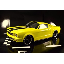 Ford Mustang Fastback 1:10 US Classic Body No.3 Sin pintar