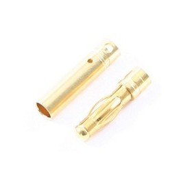 4.0MM FEMALE GOLD CONNECTORS