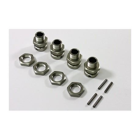 Wheel Hub Set 17mm (4 pcs) 1:8 Comp. Truggy
