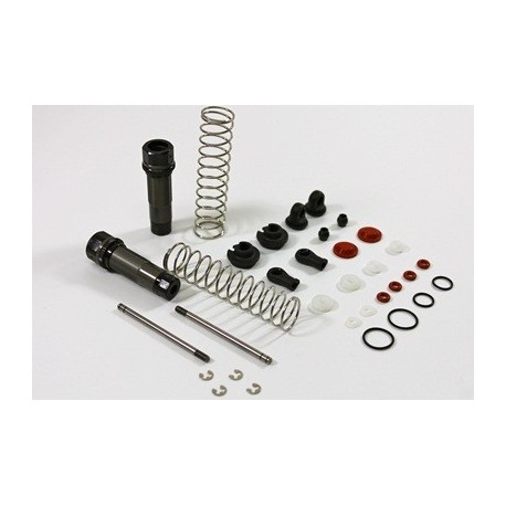 TEAM C 2WD TG2028 Alu Rear Shocks 12mm complete Comp. Truggy/SC Truck