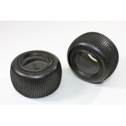 Rear Tyre / Sponge (2 pcs) 2WD Truggy