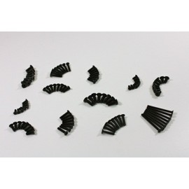 TEAM C 1/93 T08674 Flat Head Screw Set (10.9 Steel) 1:8