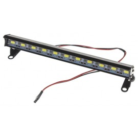 "Luz superior LED de aluminio ""Alto brillo"" - Negra"