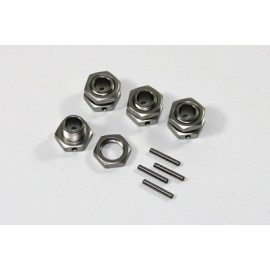 TEAM C 1/68 T08649 Wheel Hub Set 17mm (4) 1:8 Comp.