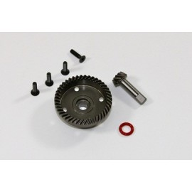 TEAM C 1/55 T08636 Differential Gear 43T & Bevel Gear 10T 1:8