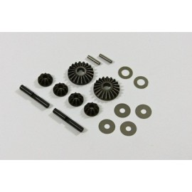 TEAM C 1/52 T08633 Differential Gear Set 1:8
